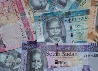 банкноты Южного Судана