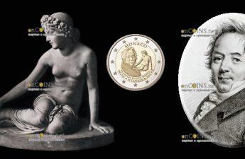 Монако 2 евро 250 лет со дня рождения Франсуа Жозеф Бозио