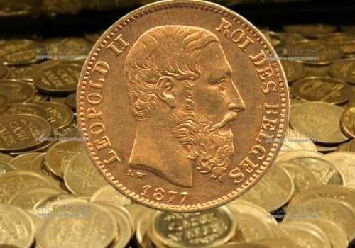 Во Франции обнаружили клад золотых монет