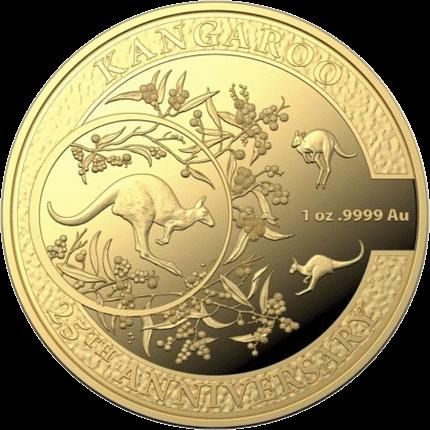 Австралия монета 100 долларов Кенгуру 2018 год, реверс