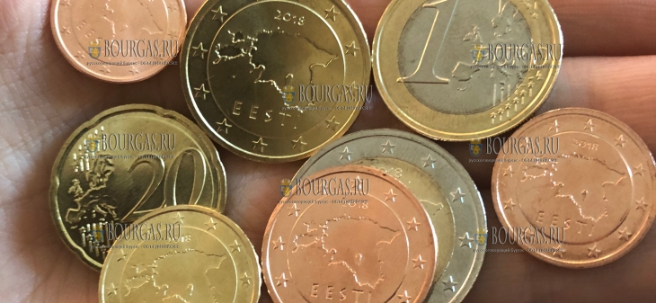В Эстонии появятся ходовые евромонеты 2018 года чеканки