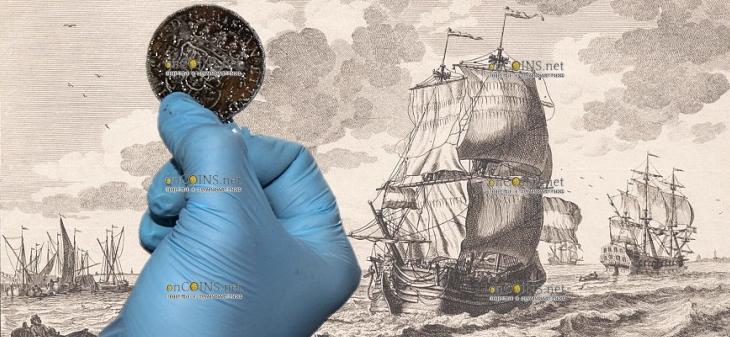 В море неподалеку от британского порта Дувр археологи нашли интересный клад