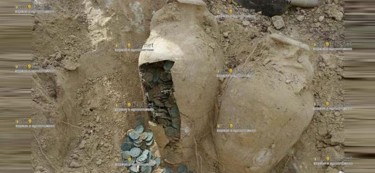Археологи в Валенсии нашли несколько очень интересных монет