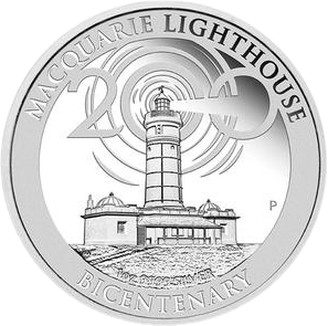 Австралия монета 1 доллар Маяк Маккуори, реверс