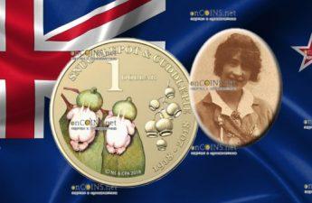 Австралия монета 1 доллар Снагглпот и Каддлпай