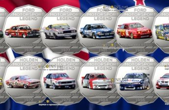 Австралия серия монет Легенды Автоспорта