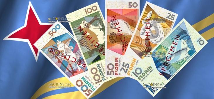 банкноты Аруба 2018 год