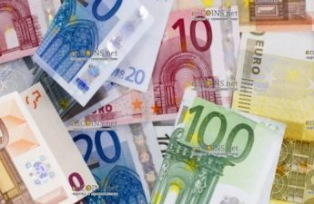 банкноты евро, евробанкноты