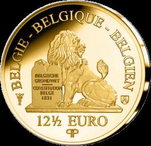 Бельгия монета 12,5 евро Луиза Орлеанская, реверс