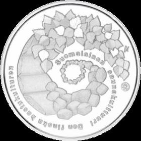 Финляндия монета 10 евро Культура финской сауны, аверс