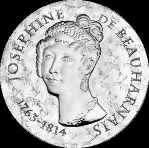 Франция монет 10 евро Жозефина де Багарне, аверс