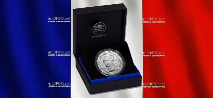 Франция монет 10 евро Жозефина де Багарне, подарочная упаковка