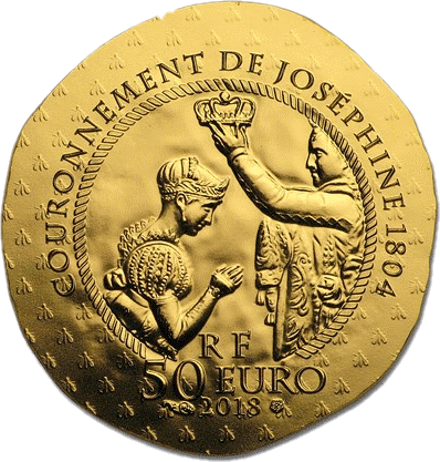 Франция монет 50 евро Жозефина де Багарне, реверс