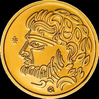 Греция монета 50 евро Храм Посейдона на Сунионе, реверс