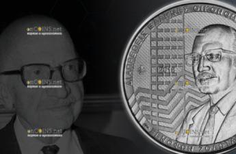Греция монета 6 евро Ксенофон Золотас