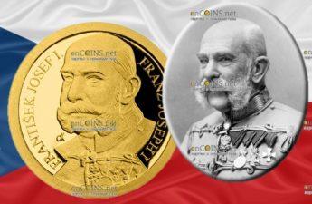 Ниуэ монета 5 долларов Франц Иосиф I