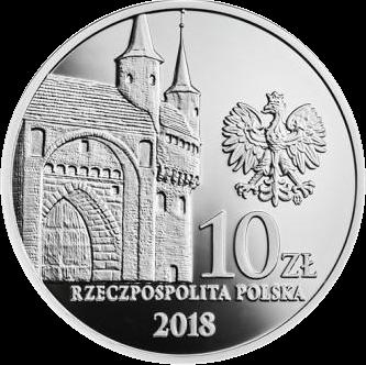 Польша монета 10 злотых Братство петуха, аверс