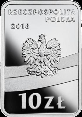 Польша монета 10 злотых Игнаций Ян Падеревский, аверс