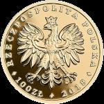 Польша монета 100 злотых Белохвостый орел, аверс