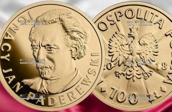 Польша монета 100 злотых Игнаций Ян Падеревский