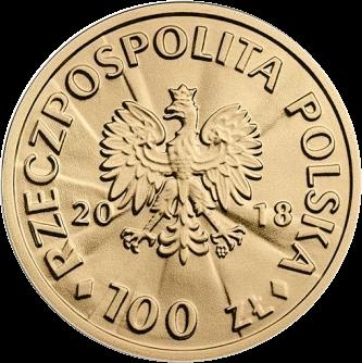 Польша монета 100 злотых Игнаций Ян Падеревский, аверс