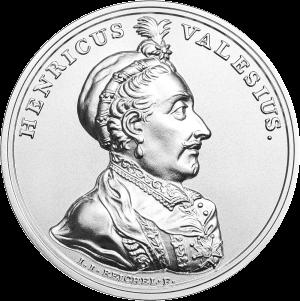 Польша монета 50 злотых Генриха Валуа, реверс