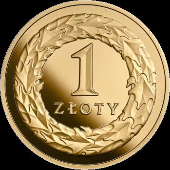 Польша золотая монета 1 злотый 100-летие восстановления независимости Польши, реверс