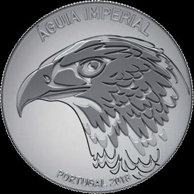 Португалия монета 5 евро Могильник, реверс