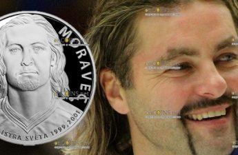 Самоа монета 2 доллара Давид Моравец