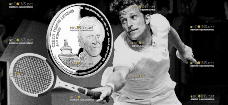 Самоа монета 2 доллара Ян Кодеш