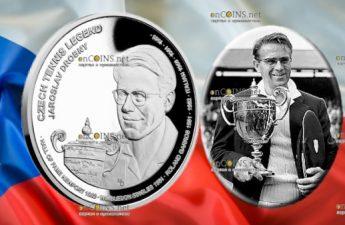 Самоа монета 2 доллара Ярослав Дробны