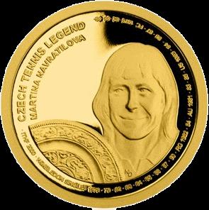 Самоа монета 25 долларов Мартина Навратилова, реверс