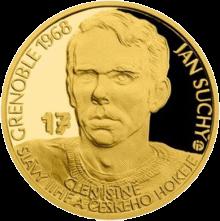 Самоа монета 25 долларов Ян Сухи, реверс