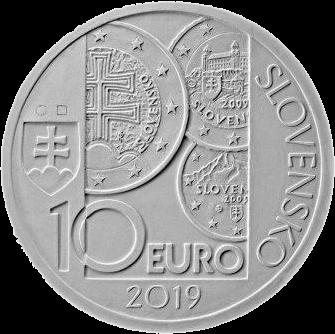 Словакия монета 10 евро 10-летие введения евро в Словакии, аверс