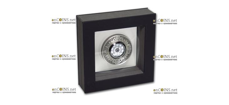 Тувалу монета 2 доллара Античный термометр, подарочная упаковка