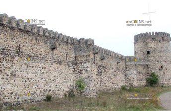 в городе-крепости Самшвилде нашли клад золотых и бронзовых монет