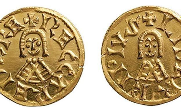 золотые монеты короля Леовигильд найденные в августе 2018 года в Валенсии