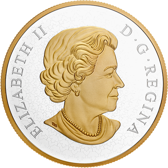 Канада монеты 100 долларов серии Хранители Парламента, аверс