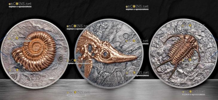 Монголия монеты серии Эволюция жизни
