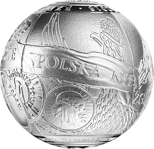 Польша монета 100 злотых 100 лет восстановления независимости Польши 1-й сегмент