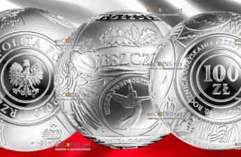 Польша монета 100 злотых 100 лет восстановления независимости Польши