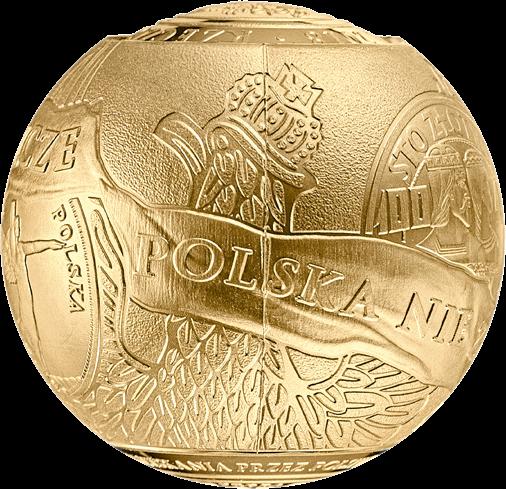 Польша монета 2018 злотых 100 лет восстановления независимости Польши, 2-й сегмент