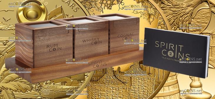 монеты серии The Spirit Coins, подарочная упаковка