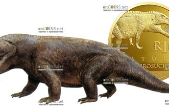 ЮАР монета 10 рандов Эритрозухии