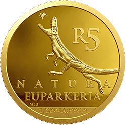 ЮАР монета 5 рандов Эупаркерия, реверс