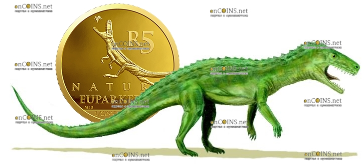 ЮАР монета 5 рандов Эупаркерия
