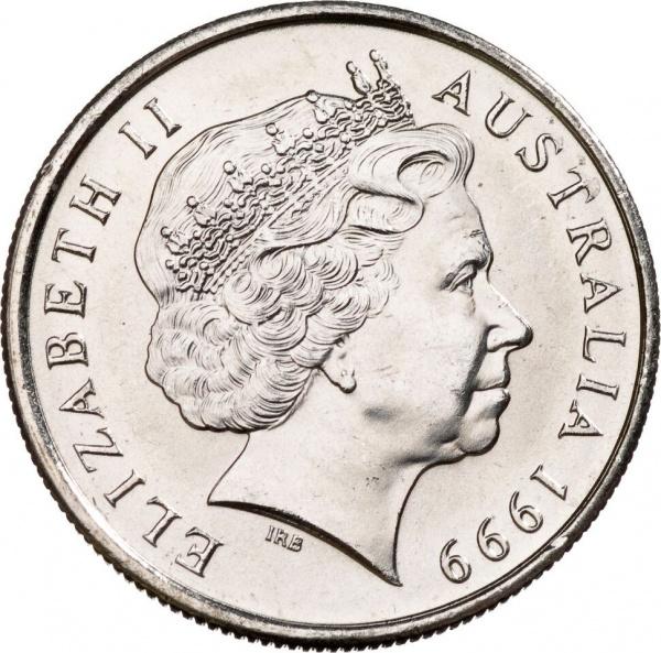 Австралия, портрет Ее Величества Королевы Елизаветы II работы Ian Rank-Broadley