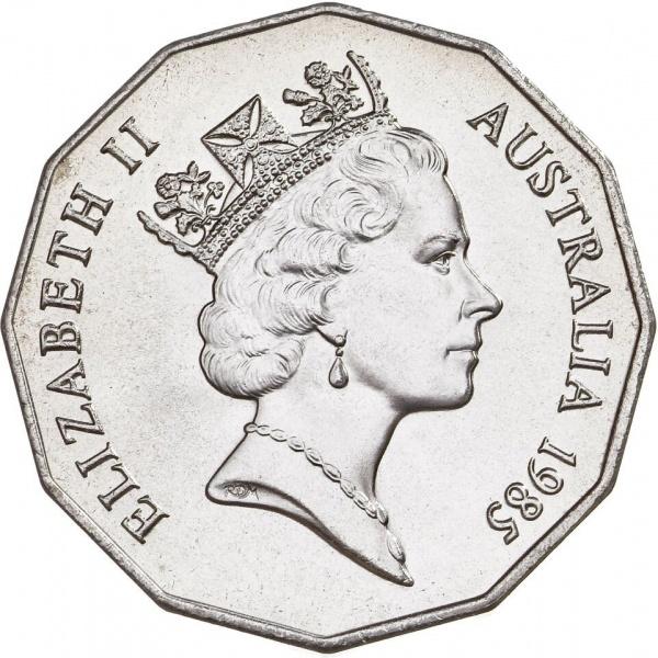 Австралия, портрет Ее Величества Королевы Елизаветы II работы Raphael Maklouf
