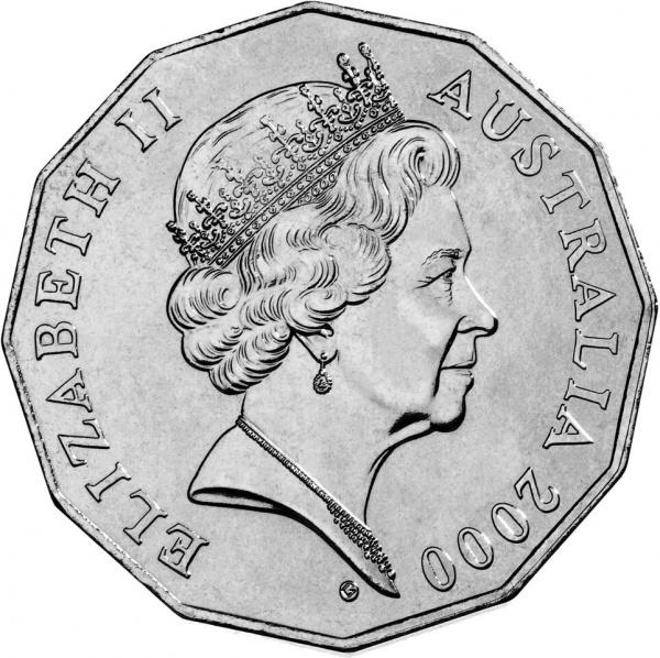 Австралия, портрет Ее Величества Королевы Елизаветы II работы Vladimir Gottwald