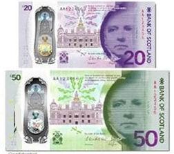 Банк Шотландии представил новые банкноты номиналом 20 и 50 фунтов